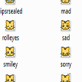 Babytiger Emoticons