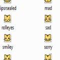 Babytiger Emoticons